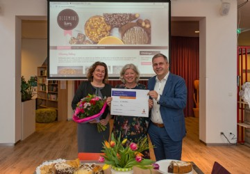 Fier en Friesland College starten sociale onderneming Blooming Bakery